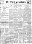 Daily Telegraph 31-8-39 Page 1
